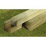 Timber Posts and Log Roll