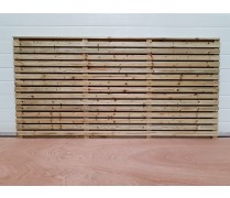 Contemporary Slat Double Sided