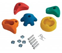 KBT Climbing Stones (Set of 5) - Mixed
