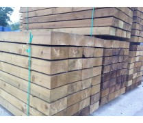 New Tanalised Softwood Railway Sleepers