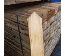 100mm x 16mm Pointed Top