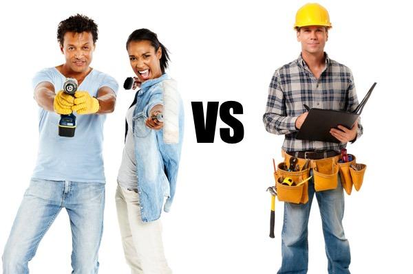 DIY vs Professional
