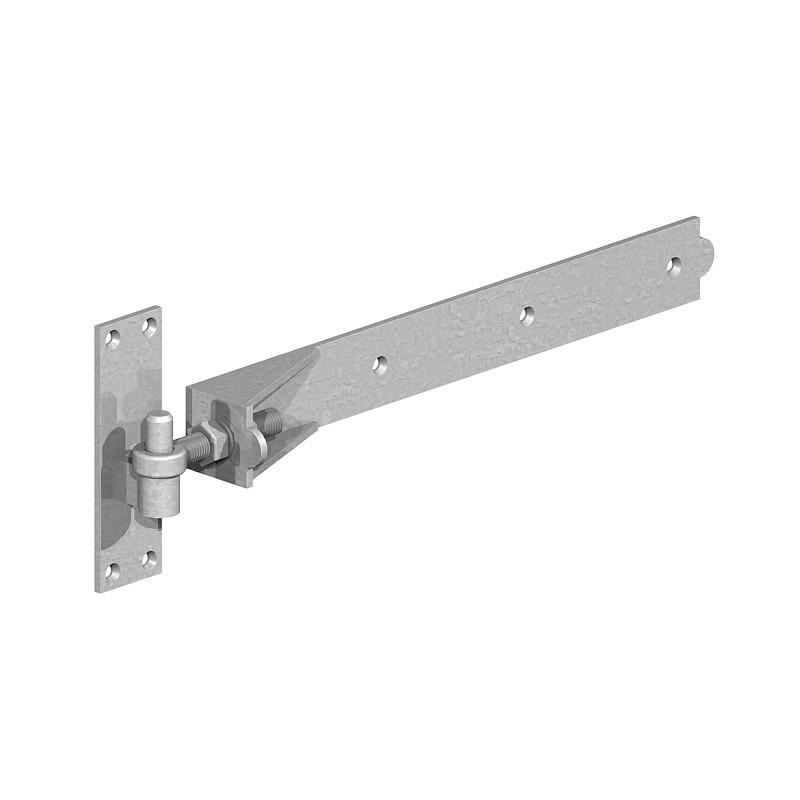 Adjustable Band and Hooks on Plates