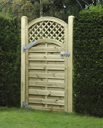 Arched Lattice Top Gate