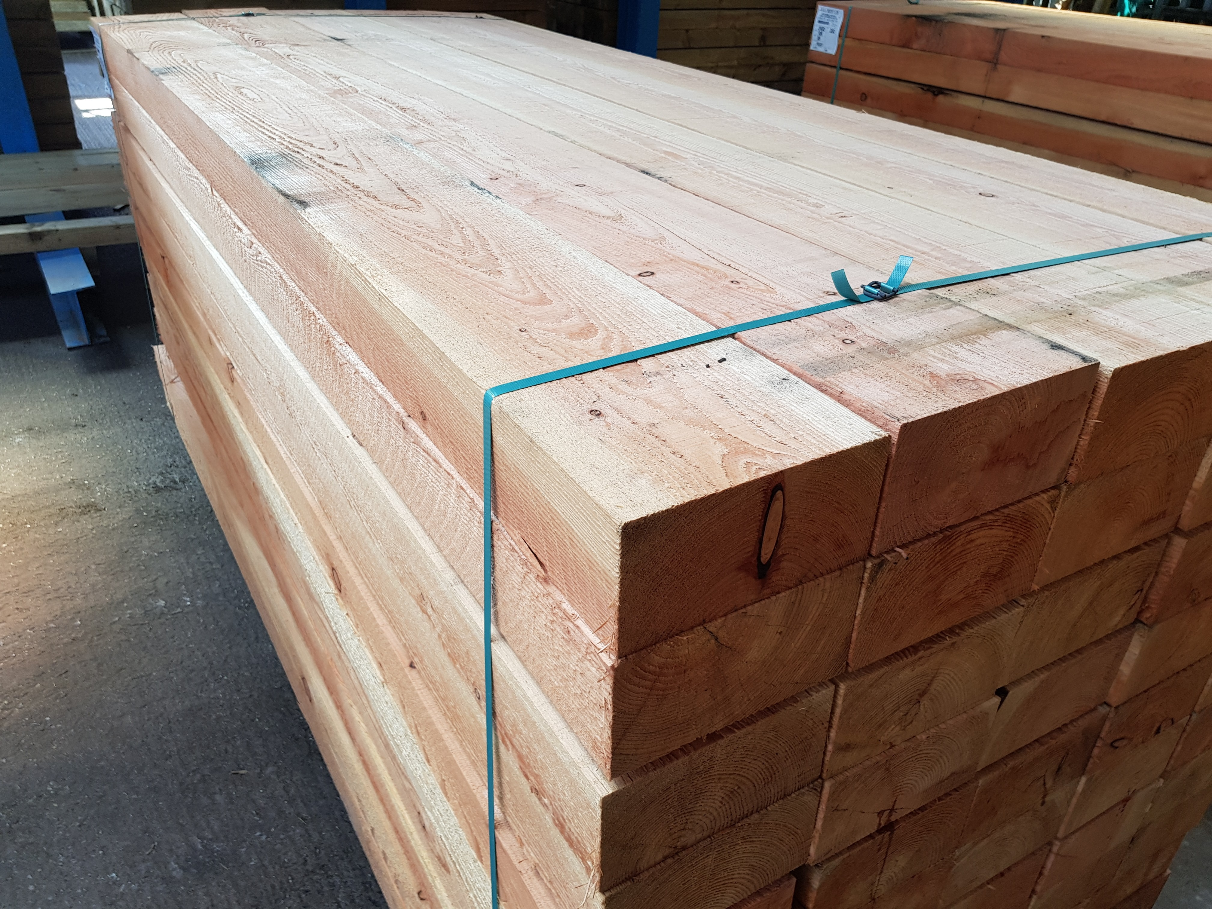 English Larch 200mm x 100mm (8'' x 4'')
