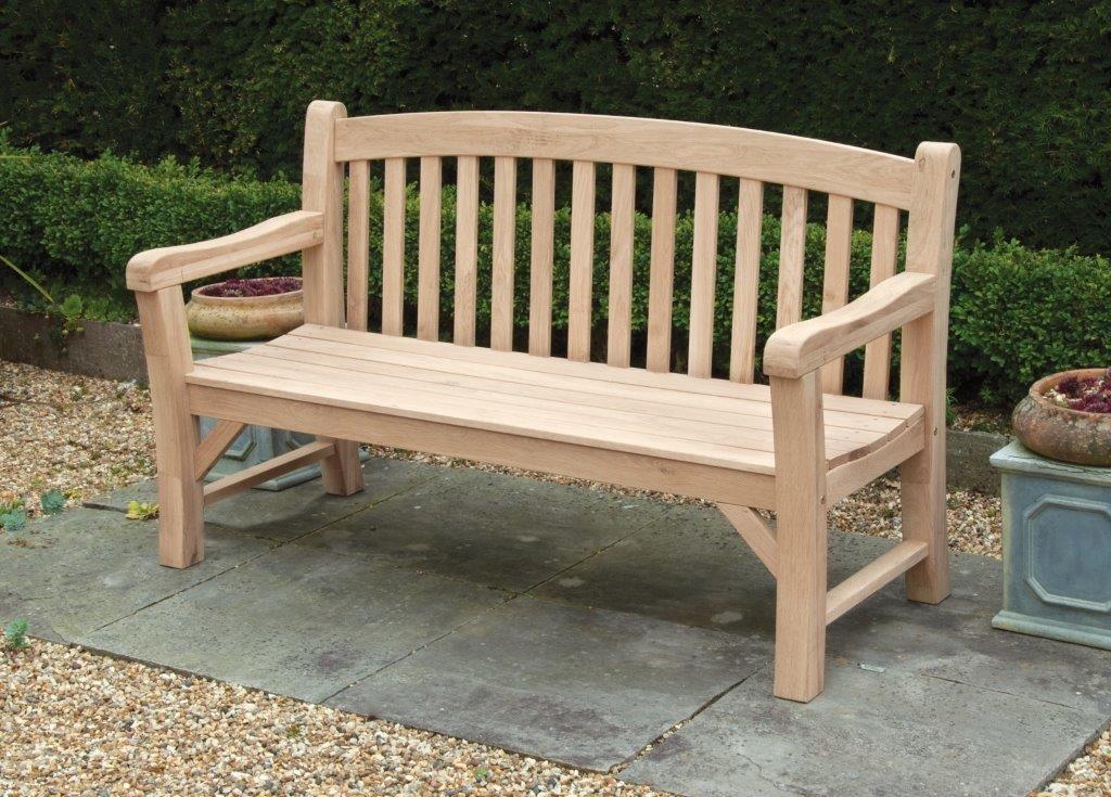 Oak Bench 150cm