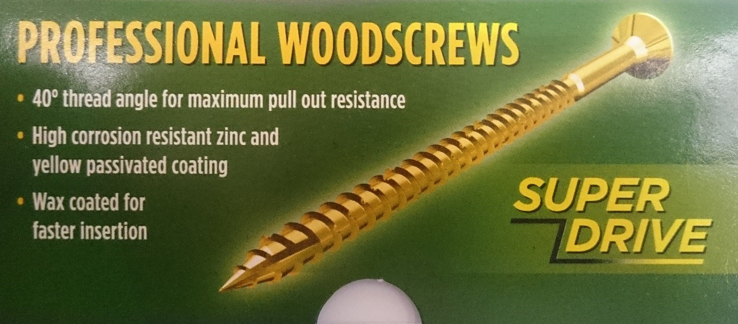 Professional Woodscrews