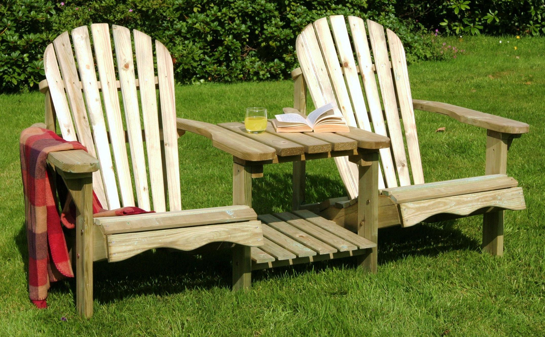 zest 4 leisure emily wooden panion love seat garden double