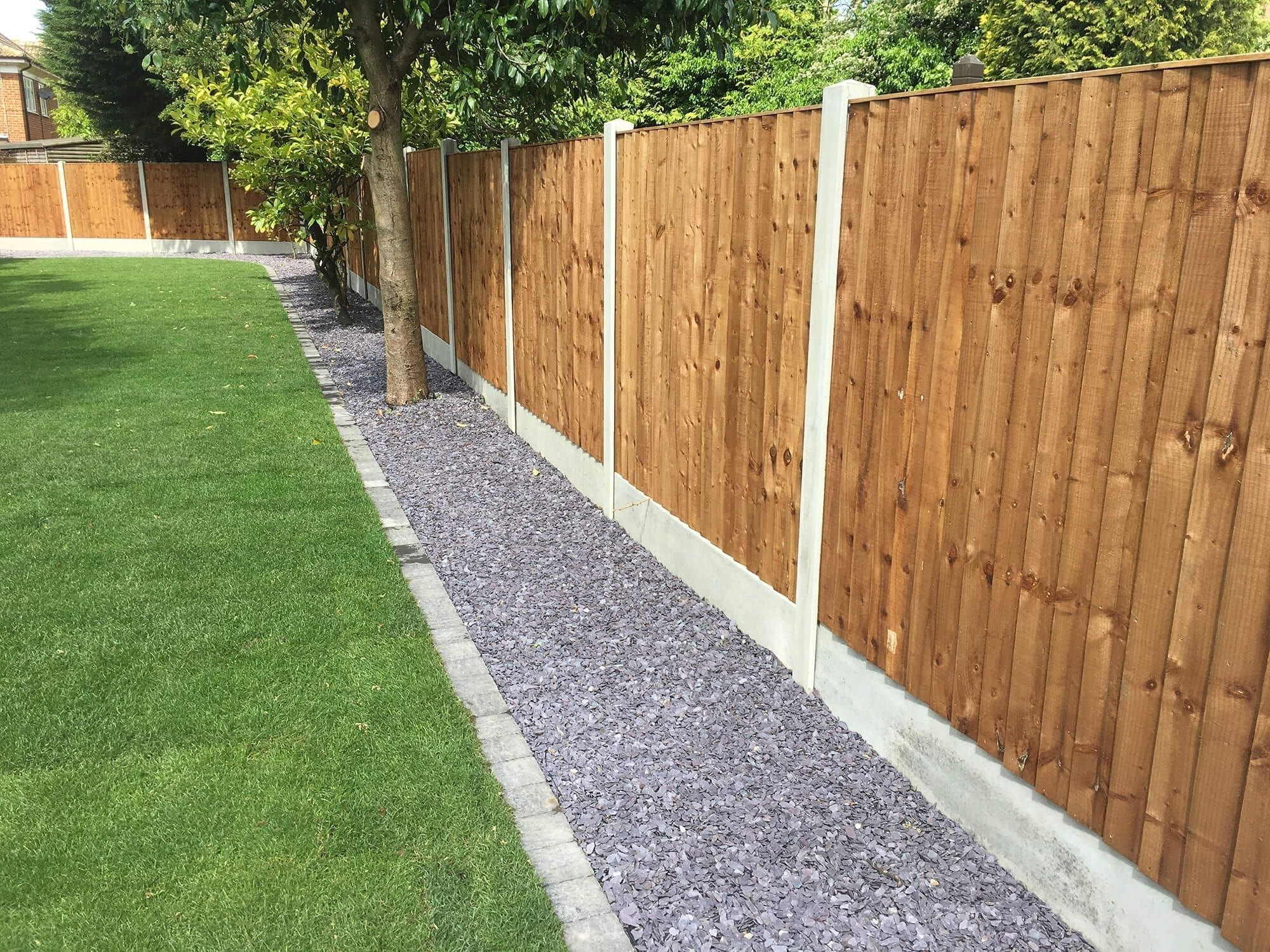 Photo of fence in garden
