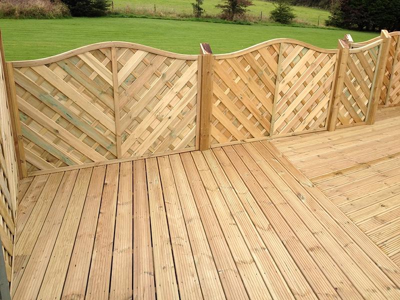Timber Decking Material