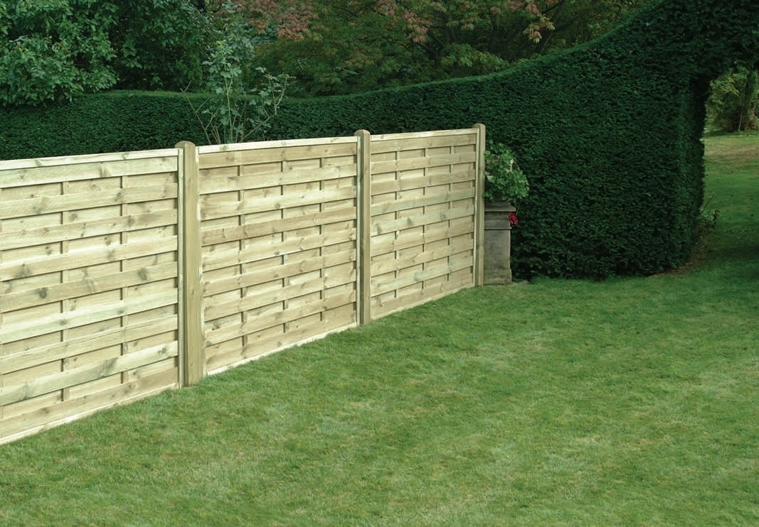Fencing With Walkway