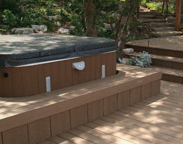 Hot-tub decking