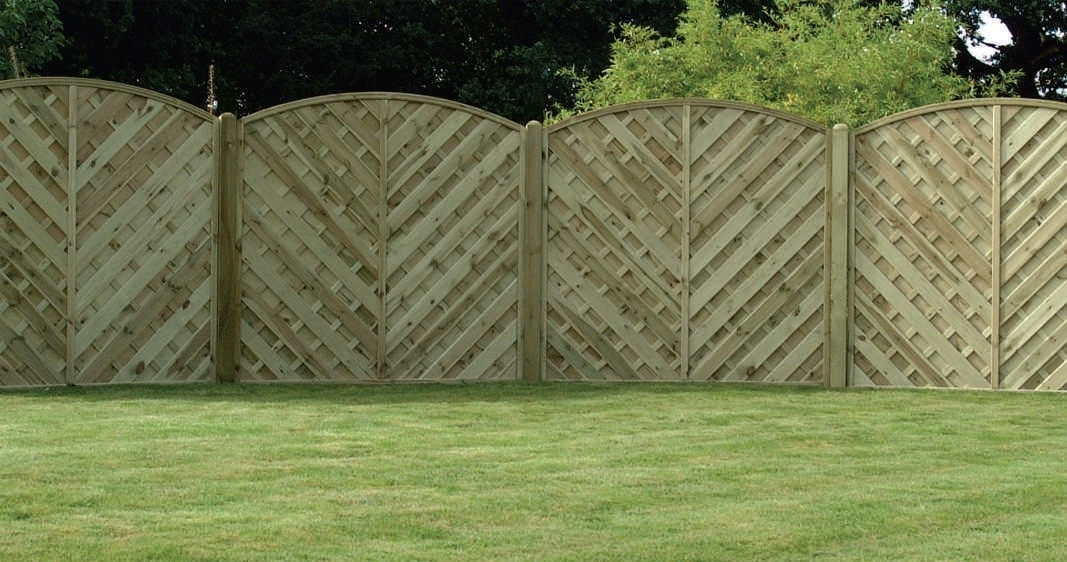 V Shaped Fencing for Home Security