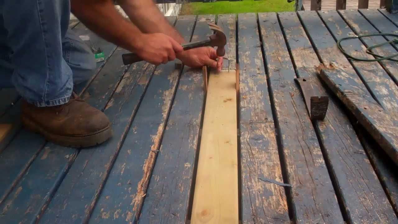 broken down wooden panels