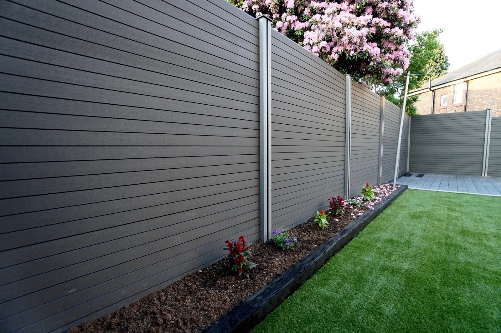Range of composite fencing