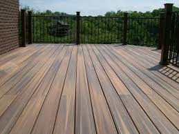 Fading Composite Decking
