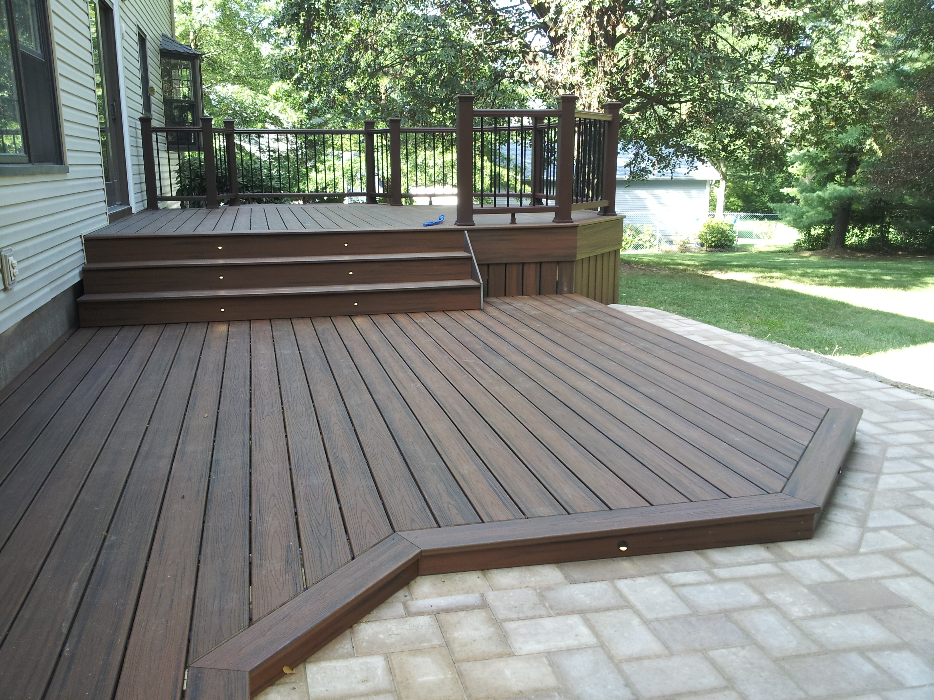 Ground Level Composite Decking