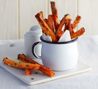 Skinny Carrot Fries