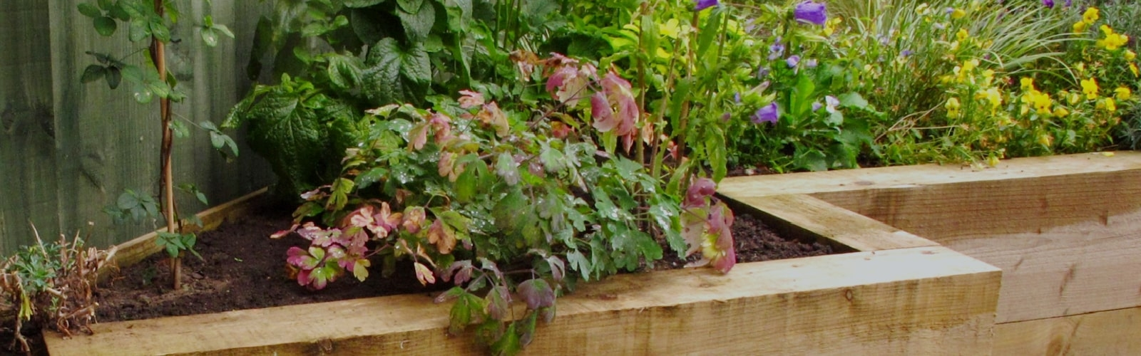 Sleepers for Raised Garden Beds